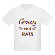 Crazy About Rats T-Shirt