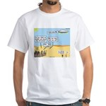 Men and Directions White T-Shirt