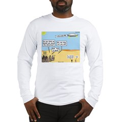 Men and Directions Long Sleeve T-Shirt