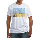 Men and Directions Fitted T-Shirt