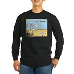 Men and Directions Long Sleeve Dark T-Shirt