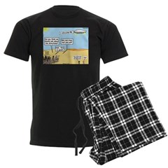 Men and Directions Pajamas