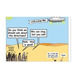 Men and Directions Postcards (Package of 8)