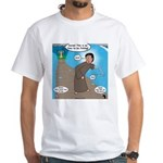 Fishing with Aaron and Moses White T-Shirt