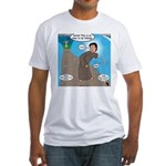 Fishing with Aaron and Moses Fitted T-Shirt