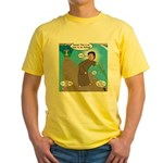 Fishing with Aaron and Moses Yellow T-Shirt