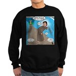 Fishing with Aaron and Moses Sweatshirt (dark)