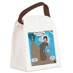 Fishing with Aaron and Moses Canvas Lunch Bag