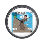 Fishing with Aaron and Moses Wall Clock