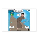 Fishing with Aaron and Moses Postcards (Package of
