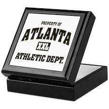 Property of Atlanta Athletic Dept. Keepsake Box