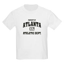 Property of Atlanta Athletic Dept. Kids T-Shirt