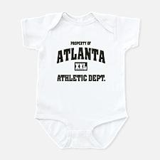 Property of Atlanta Athletic Dept. Infant Bodysuit