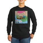 Calypso Moses Long Sleeve Dark T-Shirt