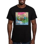 Calypso Moses Men's Fitted T-Shirt (dark)