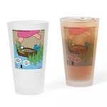 Calypso Moses Drinking Glass