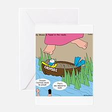 Calypso Moses Greeting Card