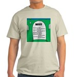Moses Tombstone Light T-Shirt