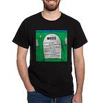 Moses Tombstone Dark T-Shirt