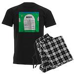 Moses Tombstone Men's Dark Pajamas