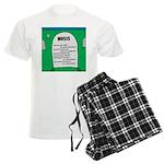 Moses Tombstone Men's Light Pajamas