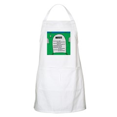 Moses Tombstone Apron