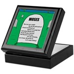 Moses Tombstone Keepsake Box