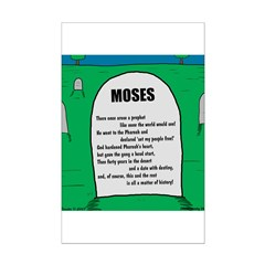Moses Tombstone Posters