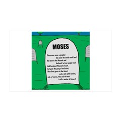 Moses Tombstone Wall Decal