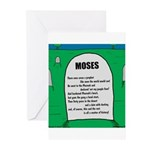 Moses Tombstone Greeting Cards (Pk of 20)