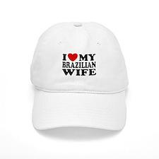 I Love My Brazilian Wife Baseball Cap