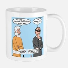 The Commandments or Your Life Mug