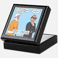 The Commandments or Your Life Keepsake Box