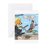 Burnt Offering Problems Greeting Card