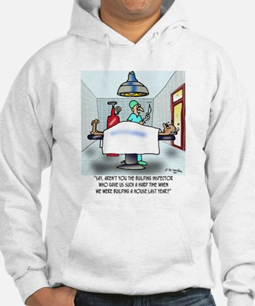 Say, Aren't You The Inspector ... Jumper Hoody
