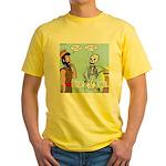 Uzzah's Very Bad Day Yellow T-Shirt