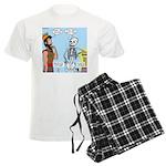 Uzzah's Very Bad Day Men's Light Pajamas