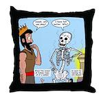 Uzzah's Very Bad Day Throw Pillow