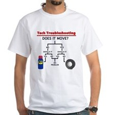 Tech Troubleshooting Flowchart Shirt