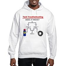 Tech Troubleshooting Flowchart Hoodie