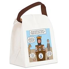 King David Canvas Lunch Bag