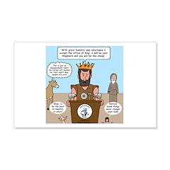 King David Wall Decal