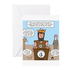 King David Greeting Cards (Pk of 10)