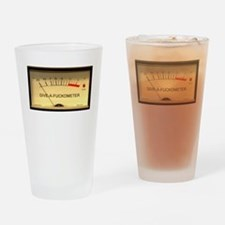 Attitude Meter Drinking Glass