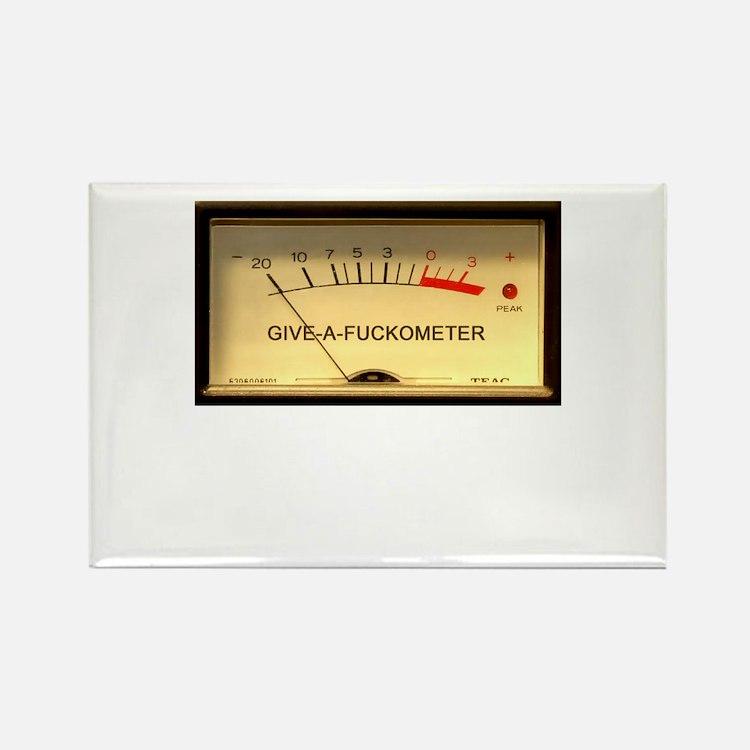 Attitude Meter Rectangle Magnet