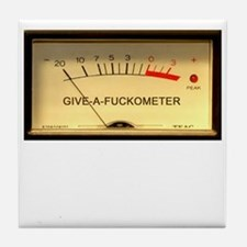 Attitude Meter Tile Coaster