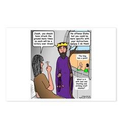 King Joash Predicament Postcards (Package of 8)