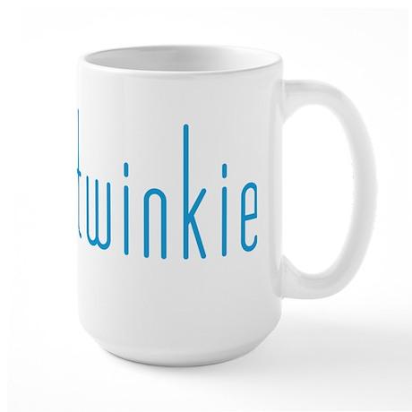 Skinny Twinkie (Blue) Large Mug