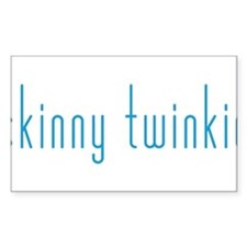 Skinny Twinkie (Blue) Decal