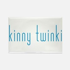 Skinny Twinkie (Blue) Rectangle Magnet